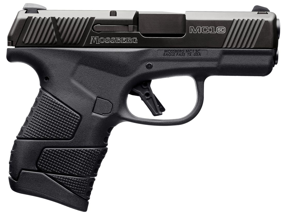 Mossberg MC1sc - A New 9mm Pistol with 100 Year Roots