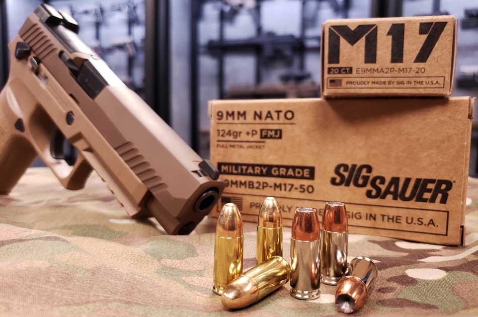 SIG SAUER M17 ammunition