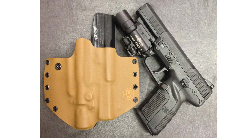 Black Point Tactical Holster for Diamondback AM2 with Pistol Light