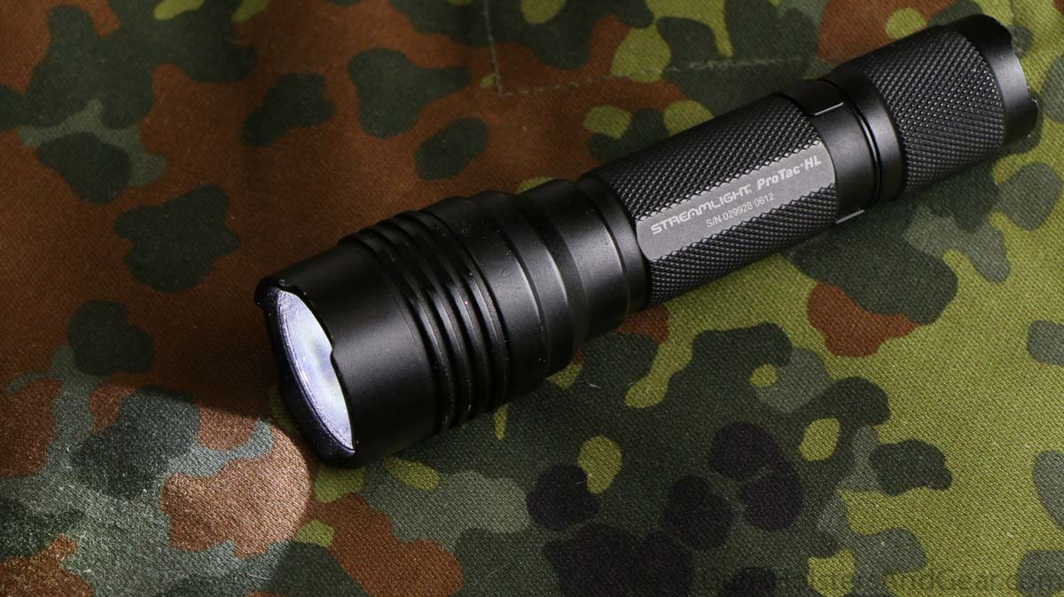 Recommend the Streamlight ProTac HL tactical flashlight for police and self-defense