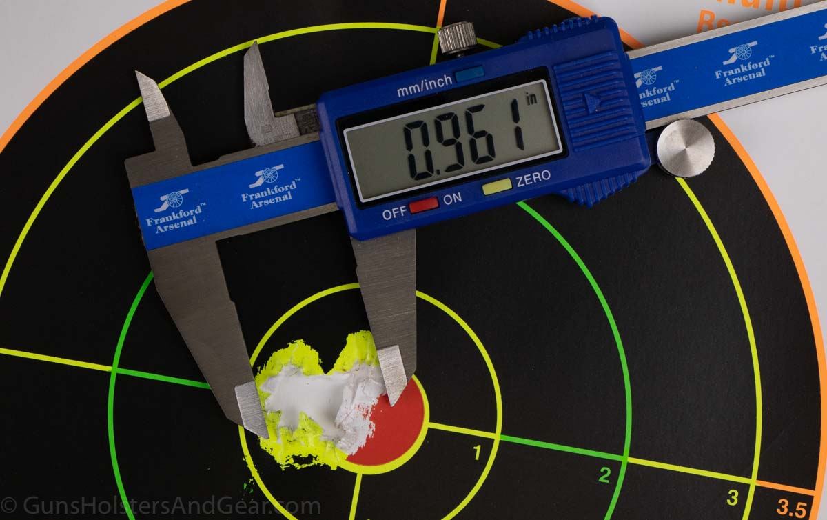 Accuracy Performance of Diamondback AM2 with Federal HST Ammo