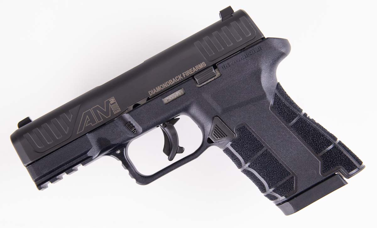 Review of the Diamondback Firearms AM2 Handgun