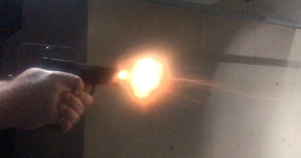 Shooting the Diamondback AM2 Pistol at the Range