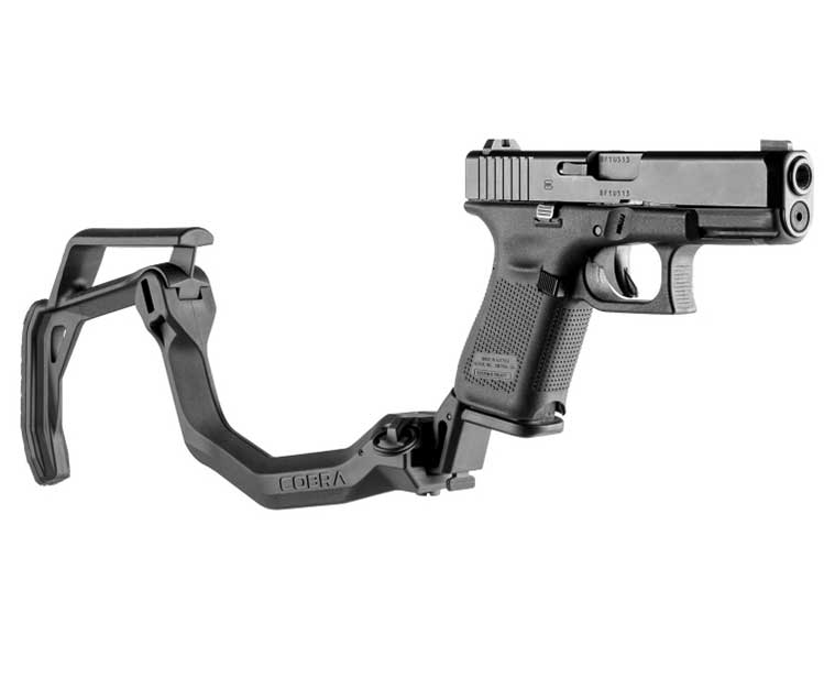 FAB Defense Cobra Folding Stock for Glock Pistol