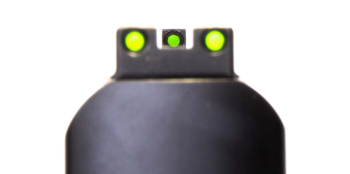 HI-VIZ Sights on Smith Wesson MP380 EZ