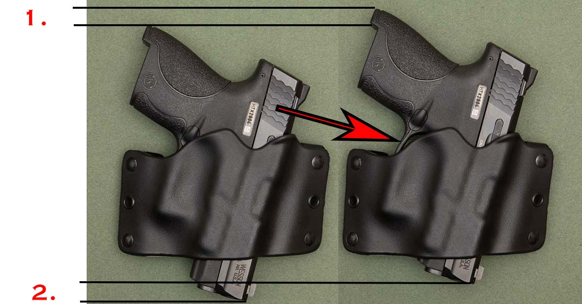 Coyote Stealth Opreator Full Size Holster