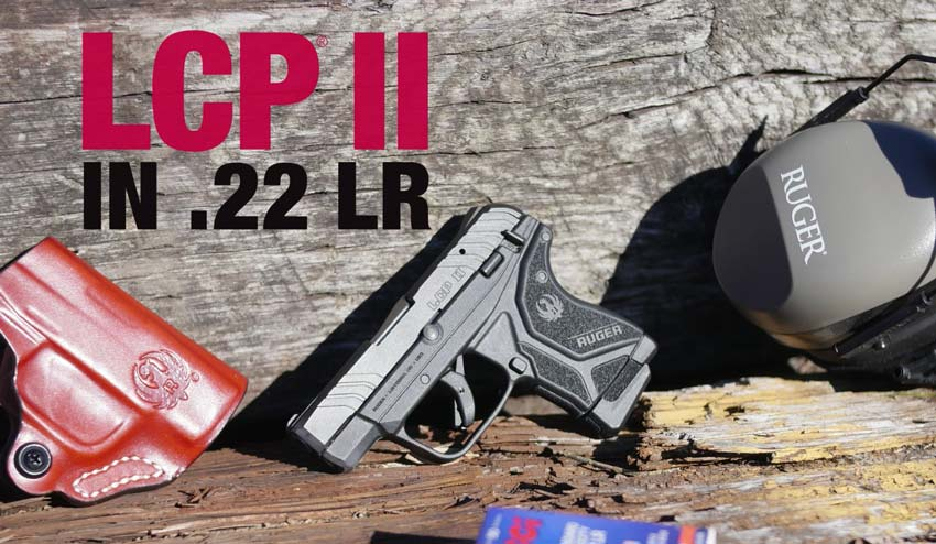 Ruger LCP II in 22 LR