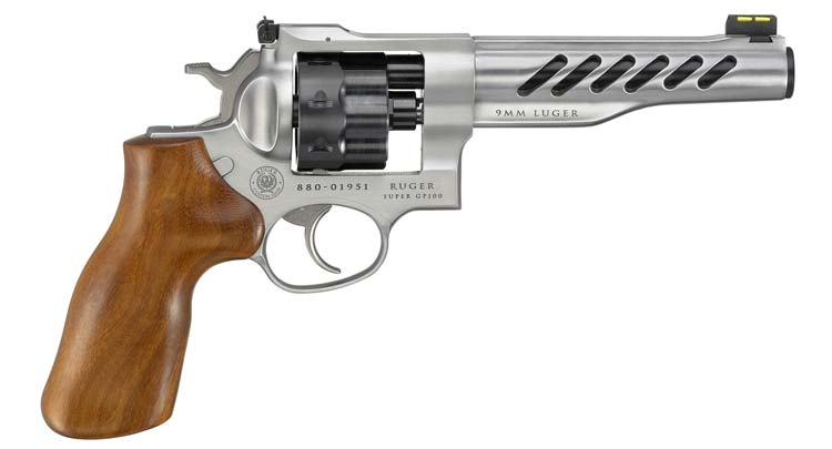 Ruger Super GP100 in 9mm