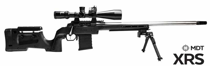 MDT XRS Chassis Stock for 2020 SHOT Show