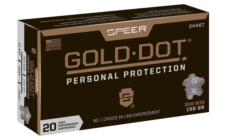Speer Gold Dot Personal Protection Short Barrel Ammo