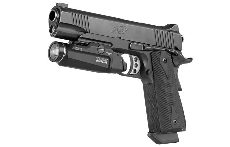 Streamlight TLR-9 Mounted on Kimber 1911 Pistol