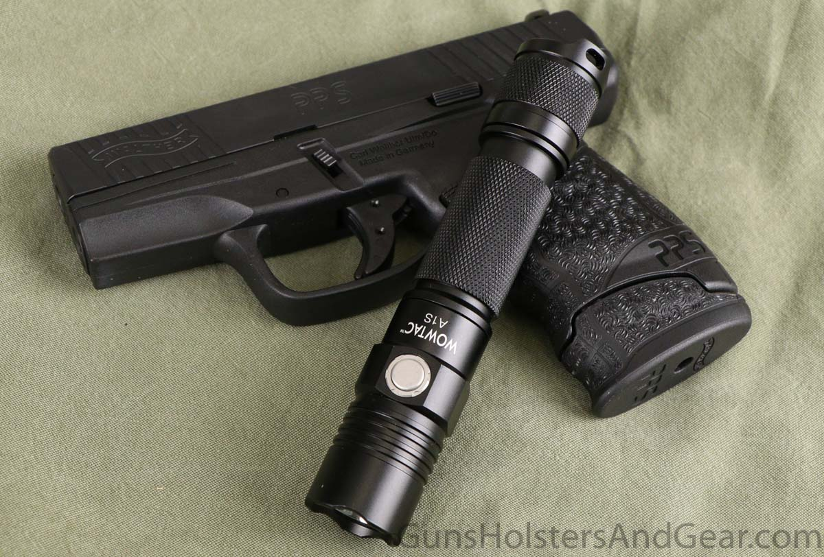 Wowtac A1S Tactical Flashlight for Self Defense