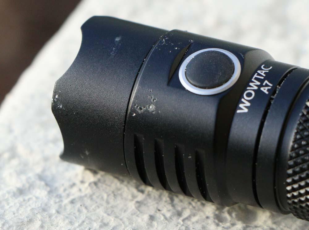 Wowtac A7 Flashlight drop test damage