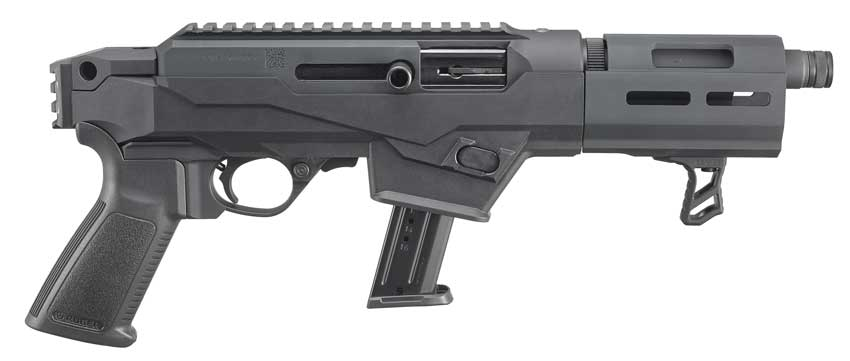 Ruger 9mm Pistol that takes Glock magazines