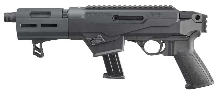 Ruger PC Charger Pistol in 9mm Left Side