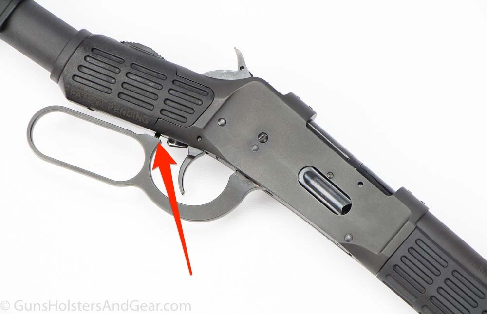 Trigger Safety on Mossberg 464 SPX rifle