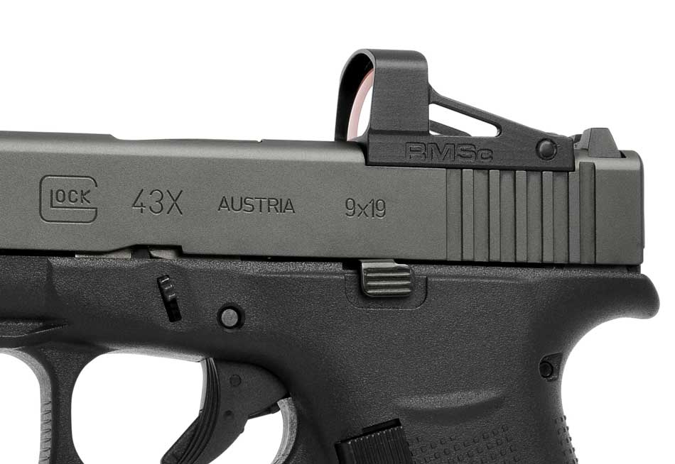 RMSc for Glock 43X and Glock 48 pistol