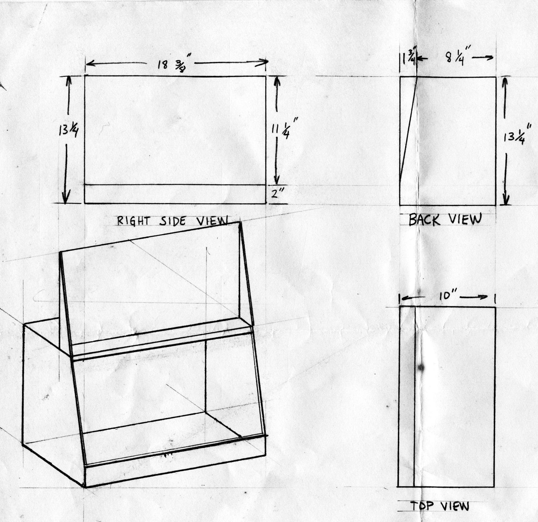 Home Made Pistol Box Plans
