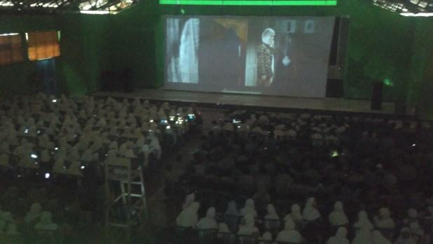 Suasana Studi Film Nyai Ahmad Dahlan