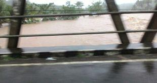 Wonosari-Nglipar Lumpuh karna banjir