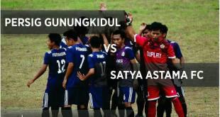 Persig Gunungkidul Bagi Score 3-3 Lawan Satya Astama