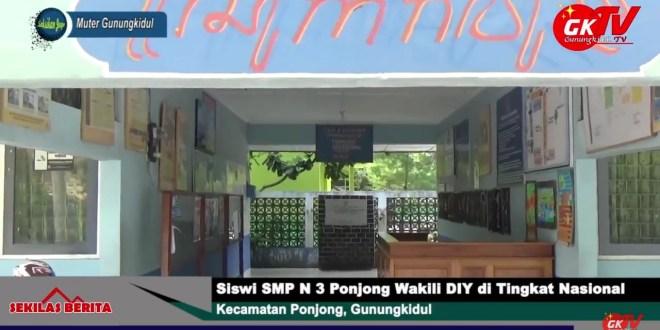 Siswi SMP N 3 Ponjong Wakili DIY di Tingkat Nasional