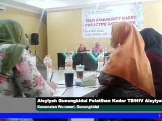 Aisyiyah Gunungkidul Adakan Pelatihan Kader TB/HIV Aisyiyah 2018