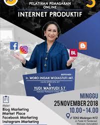 LIVE – Pelatihan Internet Produktif di D'teko Wonosari (Ahad, 25 November 2018)