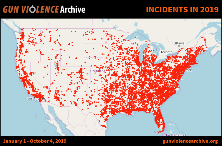 Incidents in 2018