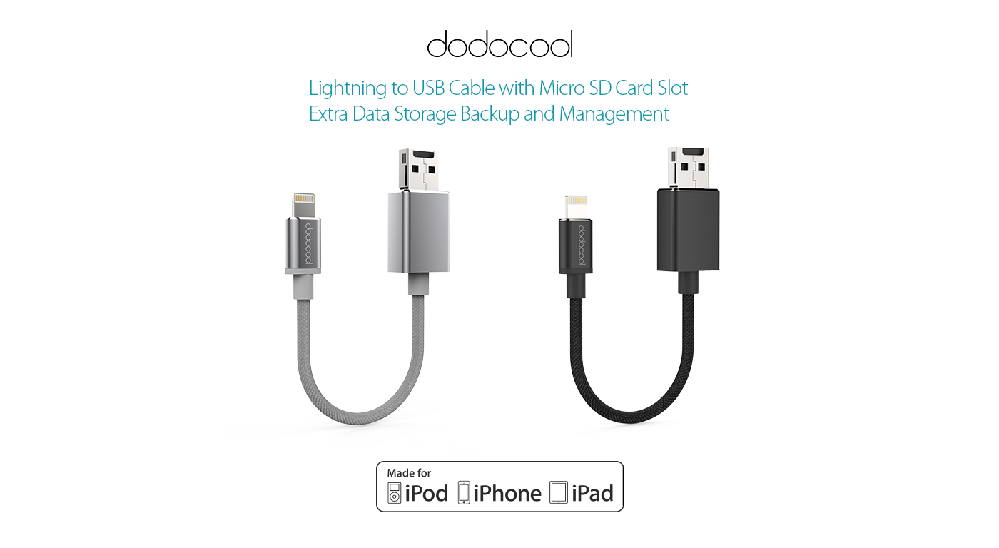 Lightning To Usb Memory Cable Dodocool
