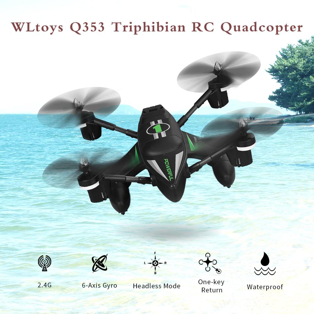Dron Aero-Anfibio WLtoys Q353 por 62 euros