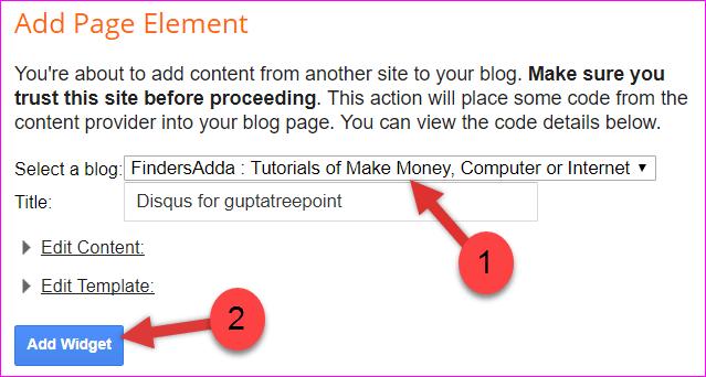selecting blog
