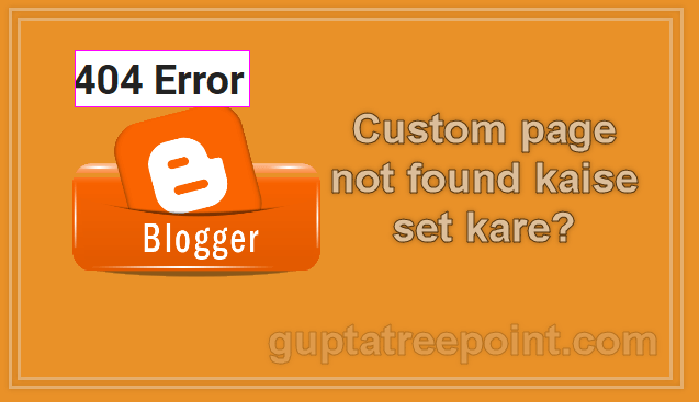 custom page not found