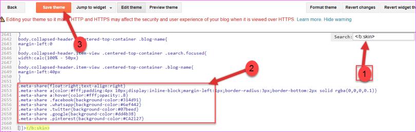 css code pasting below b:skin