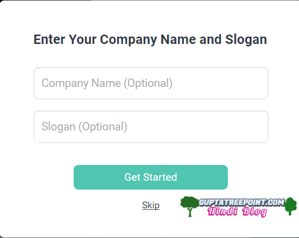 Enter Company Name