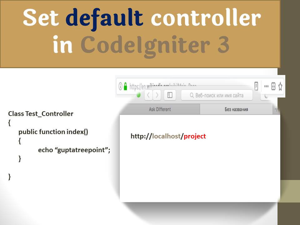 Set the default controller in CodeIgniter 3 with Sub-folder