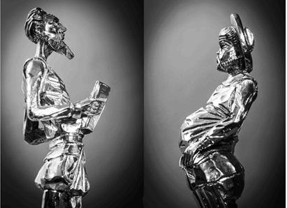 Collage Don Quijote de la Mancha, revista Gurb