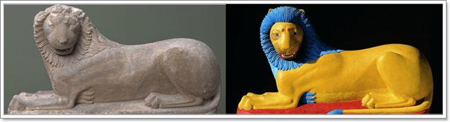 León de Loutraki (c. 570-560 a. C)