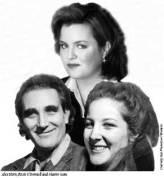 Rosie, Sharon, Alex