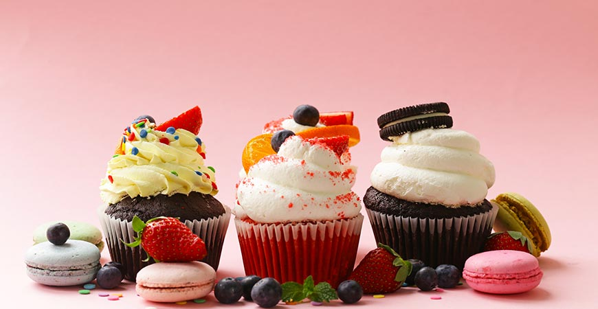 order Cupcakes online in gurgaon