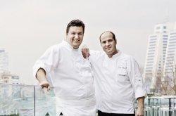 Eataly'de Claudio Chinali ve Carmine Morgese