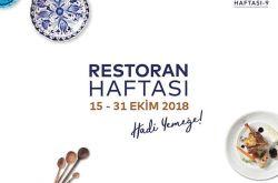 Restoran Haftası 2018 Afişi