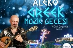 Foça Balık'ta Greek Gecesi
