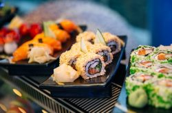 Bleu Lounge'ta sushi