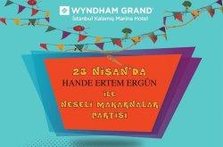 Wyndham Grand Kalamış'ta 23 Nisan Çocuk Atölyesi