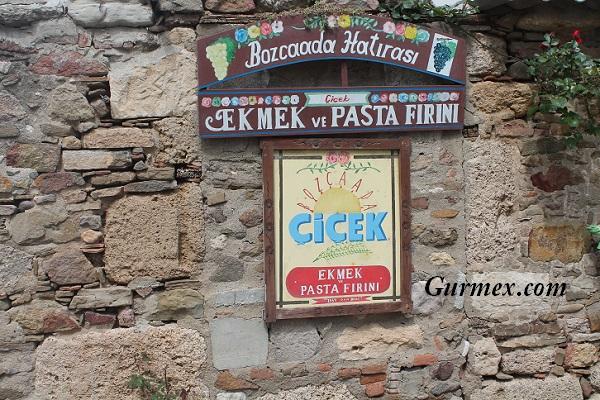 Çiçek Pastanesi Bozcaada ne yenir