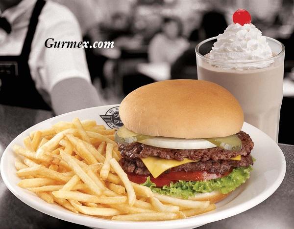 Steak n Shake Hamburger Manhattan Amerika