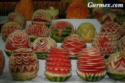 Karpuz Süsleme Sanatı