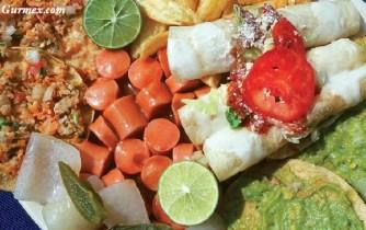 Michoacán usulü Meksika yemekleri