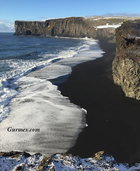 İzlanda Seyahati kuzey ışıkları